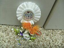 Bridal Shower Pin Bride to Be (Calla Lilly) Handmade