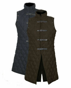Gambeson Medieval-thik Padded Armour costume Cotton size (S to XXXL )