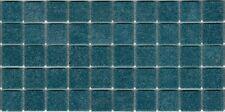 50pcs VTC40 Steel Blue Bisazza Vetricolor Glass Mosaic Tiles 2cm x 2cm