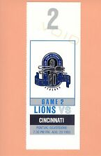 Cincinnati Bengals at Detroit Lions 1993 NFL ticket stub Topps Barry Sanders HOF