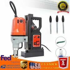 "Md40 1100W Magnetic Drill Press 1-1/2""Boring&270 0Lbs Magnet Force Magnetic Drill"