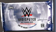 2017 Topps WWE Undisputed Wrestling Factory Sealed Hobby Pack Fresh From Box