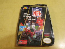 ORIGINAL BOX FOR NINTENDO NES GAME  NFL    GAME NOT INCLUDED