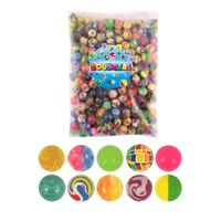 Children's Bouncy Multicoloured Jet Balls Games Party Bag Filler Toy
