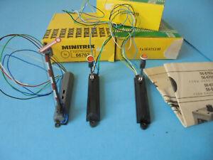 Minitrix N 1x 66763, 2x 66753 - Signale - Neuwertig