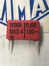 Wima MKS 4 0.68/100 Capacitor ( lot of 50 )