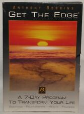 Anthony Robbins Get the Edge 10 Cd Set 7 Day Program Transform Your Life
