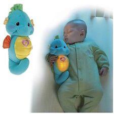 NIGHTTIME FRIEND FOR BABY -OCEAN WONDERS SOOTHE & GLOW BLUE SEAHORSE PLUSH