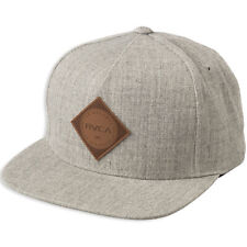 new product 855ec 70ee0 RVCA Camps (heather Grey) Snapback Hat
