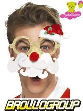 Accessori natalizi occhiali umoristici babbo natale  *01221 pelusciamo store