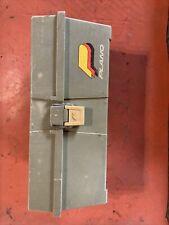 Vintage Vtg Plano 2110 Green Tackle Box