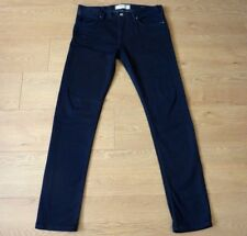French Connection Men Skinny Fit Dark Blue Jeans Size 32W 32L