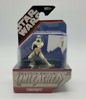 Star Wars Battle Packs Unleashed Stormtrooper Figure Brand New in Package 2007