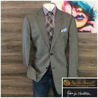 John W. Nordstrom Loro Piana Cashmere Men Sport Coat Size 46L Tall Blazer Jacket