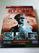 """DVD """"ADOLF HITLER LA HISTORIA JAMAS CONTADA"""" 2DVD COMO NUEVO EDICION ESPECIAL"""