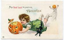 Halloween Child JOL Black Cat Ghost
