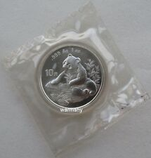 China 1998 Panda Silver Coin 1oz 10 Yuan