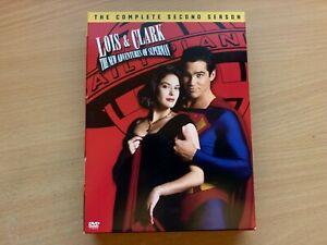Lois & Clark New Adventures Of Superman Season 2 Second Series (DVD 6-Disc 1994)