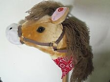 Animal Alley plush Stick Horse Pony w/galloping & neighing sounds