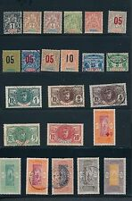 Dahomey (1899- 39) *37 Different* Includes Early Navigation & Commerce; Cv $72
