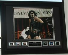 """TIM CURRY signed """"Rocky Horror Picture Show"""" AUTHENTIC  COA  AFTAL DEALER #199"""