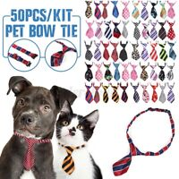 10/20/50/100PCS  Lot Wholesale Pet Dog Puppy Necktie Ties Collar Pet Bow Collar