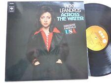 LP VICKY LEANDROS  Across the water Enregistré a Nashville USA CBS 81065 RRT