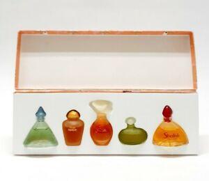 Vintage Yves Rocher Ming Shu Rose Ispahan Canate Nature Shafali Miniature Set