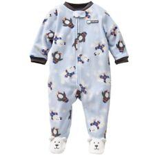 Carters Baby Boys Polar Bear Micro Fleece Sleep and Play (3 Months)