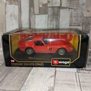 Burago Ferrari 250 GTO 1962 Die-Cast Car Model