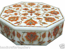 "6""x6""x1.5"" Trinket Box Rare Inlay Mosaic Marquetry Jewelry Box Arts Decor Gifts"