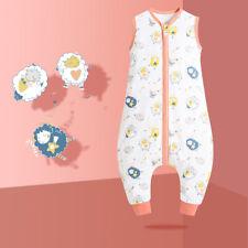Baby Sommer Schlafsack Kinder Schlafsäcke aus Baumwolle mit Beinen - Süße Schafe