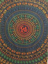 Om Print 100% Fair Trade tapestry