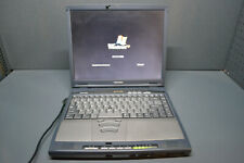 Vintatage Toshiba satellite 1800-400 intel Celeron 800mhz used laptop windows XP