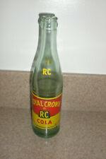 RARE ROYAL CROWN COLA RC SODA BOTTLE 28 OZ PAPER LABEL RETURN FOR DEPOSIT 1970s