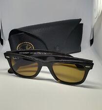 Rayban - Wayfarer -  902/57 - Sunglasses - Tortoise - 50mm w/ Case - VINTAGE
