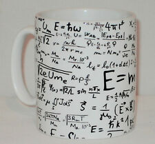 Equations Formulas Gift Mug Can Personalise Teacher Mathematics Maths Science