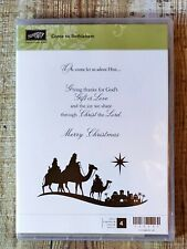 Stampin' Up Come to Bethlehem - religious Christmas
