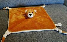 Schmusetuch Bär von Lomotex braun weiß unbekuschelt neuwertig