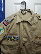 Official Uniform Shirt.  Boy Scouts.  Short Sleeve.  Size Large .adult