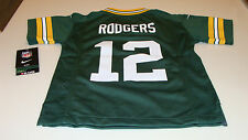 NFL Jersey Green Bay Packers Aaron Rodgers Football M Age 5/6 Child Kids