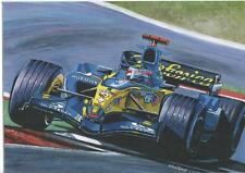 Fernando  Alonso World Champion 2005 art print