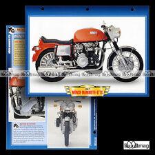 #024.04 Fiche Moto MÜNCH 1200 MAMMUT TTS (MAMMOUTH) 1967 Motorcycle Card