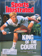 SHIPPED IN A BOX -  Sports Illustrated Magazine September 18 1989 Boris Becker