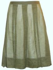 Talbots Below Knee A-Line 100% Cotton Skirts for Women