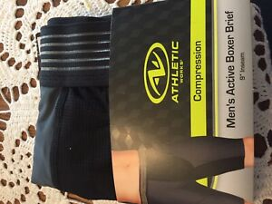 Boxer Brief For Man,size Small, Athletic Works Brand, Compression