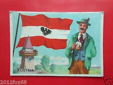 figurines cromos cards figurine sidam gli stati del mondo 49 austria flags flag