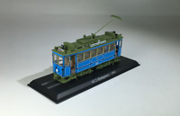 New 1/87 HO Scale German Urban Rail Trolley A2.2 (Rathgeber)-1901 Plastic Model
