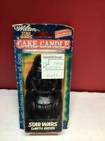 Vintage 1980 Star Wars The Empire Strikes Back Wilton Darth Vader Candle