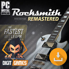 Rocksmith 2014 Remastered - Steam / PC & Mac - New [No CD / No Realtone Cable]